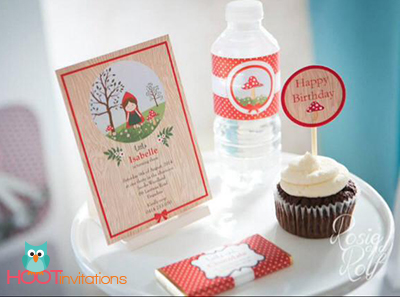 Little Red Riding Hood Party Printables