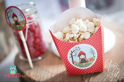 Red Riding Hood party Printables