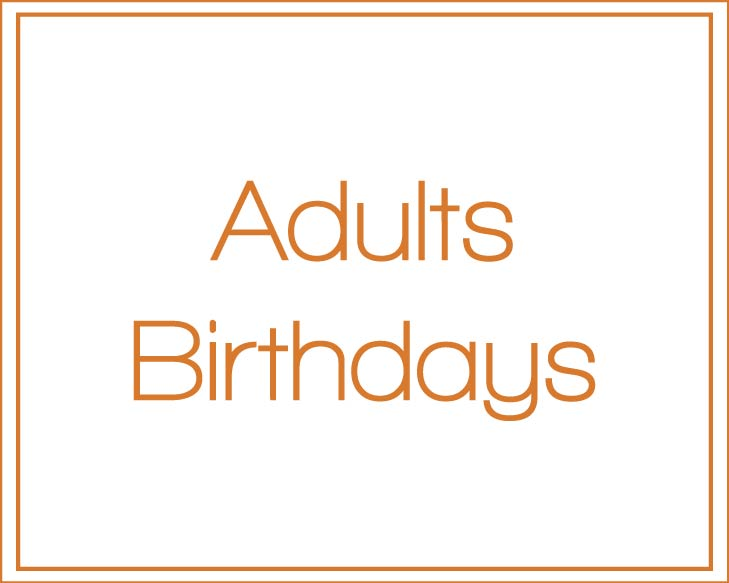 Adult's Invitations