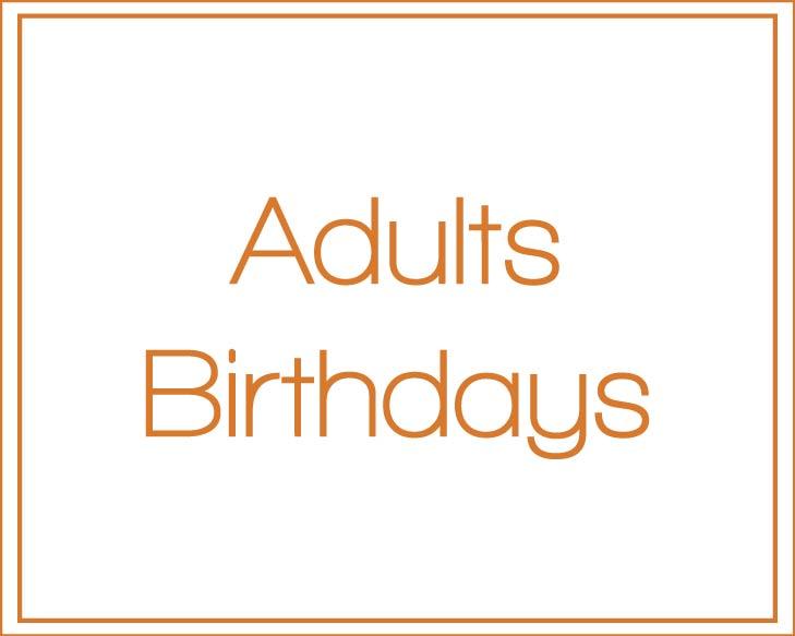 Adult's Invitations