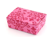 Medium HiPP Box think bracelet- Damask Rose-Medium HiPP Box, Damask Rose, unique favour box, favor box, wedding box,