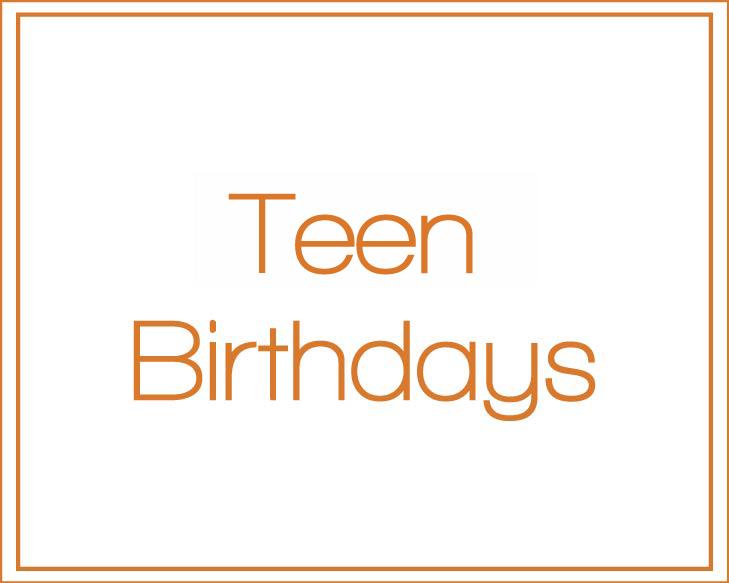 Teen's Invitations