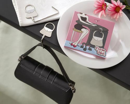 Purse Valet Stainless Steel Handbag Holder-handbag holder, bridal shower gift, bridal shower favour, wedding bomboniere, bonboniere, bridal shower bomboniere, unique bomboniere