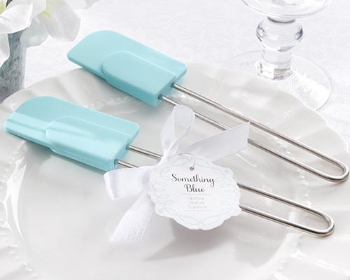 Something Blue Silicone Kitchen Spatula-something blue silicon spatula, kitchen tea spatula, kitchen tea bomboniere, bridal shower spatula, bridal shower bomboniere, bridal shower favour