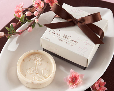 """Cherry Blossom"" Scented Soap-Cherry Blossom Scented Soap, Soap, Bomboniere, wedding gift, bomboniere, bonboniere"