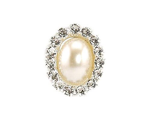 Diamante and Pearl Cluster - Oval-Diamante and Pearl Cluster, Oval cluster, Pearl cluster, diamante cluster, diamante embellishment, pearl embellishment, invitation decoration, unique invitations, wedding invitation, bomboniere, bonbonniere, paperglitz