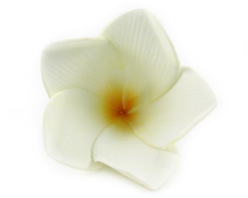 Frangipani Latex Flower Cream (Pack of 12)-Frangipani Flower, Artificial flowers, fake flowers, cream frangipani, bomboniere, wedding, bonboniere, DIY