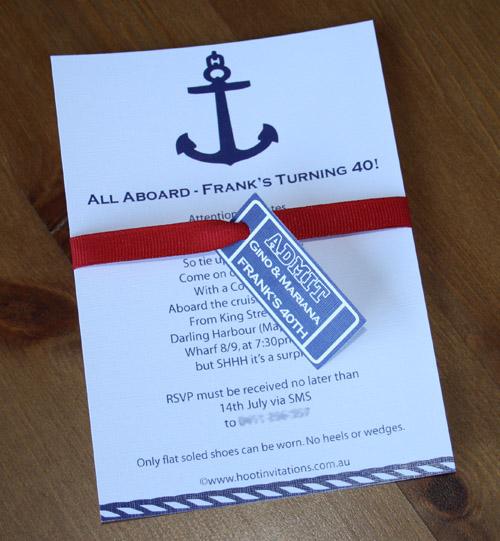 Nautical Invitation-Nautical birthday invitation, nautical wedding invitation, nautical engagment invitation, boat birthday invitation,