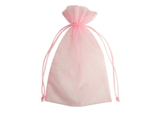 Organza Bag Baby Pink-Organza bag, chiffon bag, high quality organza bag, Baby Pink organza bag, premium organza bag, wedding favour, wedding bomboniere, christening favour, christening bonbonniere, vandoros organza bag, jewellery organza bag, bonbonniere, bombonniere, bomboniere