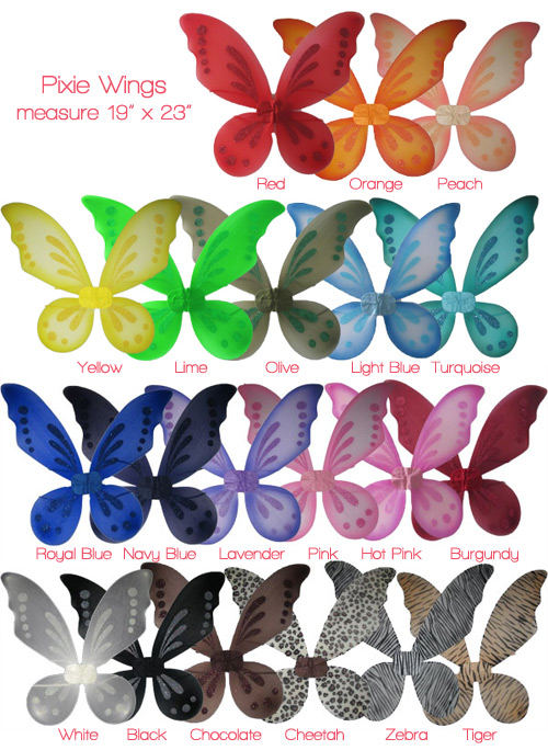 Pixie Wings-Pixie Wings, Fairy Wings, dress up wings,