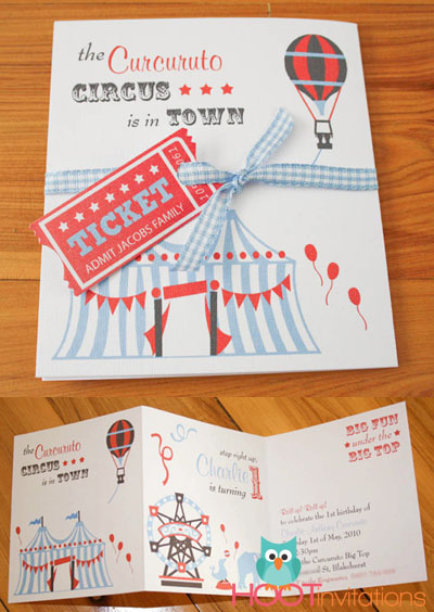 Roll up! Circus Party Invitation-roll up circus invitation, circus invitation, circus party, unique circus invitation, boys circus party, christening circus invitation, circus birthday party invitation