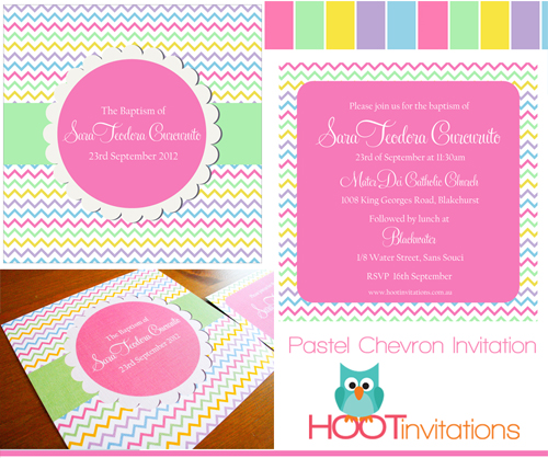Pastel Chevron Invitation-pastel chevron invitation, rainbow chevron invitation, pastel christening invitation, pastel baptism invitation, girls baptism invitation, girls christening invitation, pastel birthday invitation, pastel birthday invite, pastel wedding invitation, chevron wedding invitation