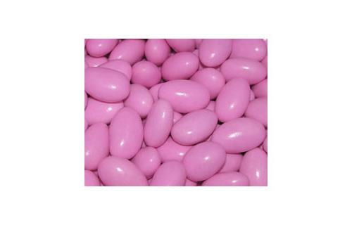 Sugar Coated Almonds Pink 1kg-Sugar Coated Almonds, bomboniere almonds, candy almonds, jordan almonds, pink almonds