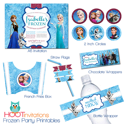 photograph relating to Frozen Invite Printable known as Disney Frozen - Celebration Elements Procuring Advisor - Lifes Very little