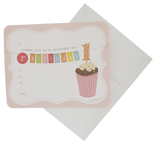 First birthday Girl Invitation Kit-First birthday invitation girl, first birthday girl, Ready made invitation, invitation kit first birthday, first birthday,