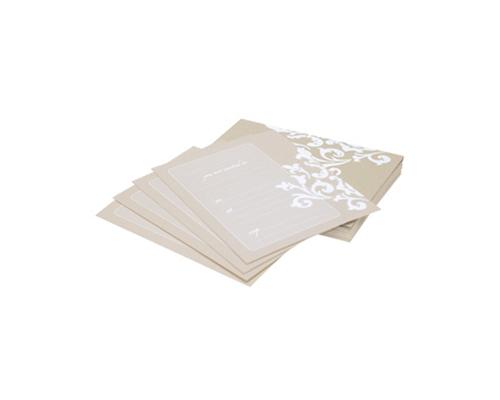 Ivory Wedding Invitation Kits: HiPP Invitation Kit