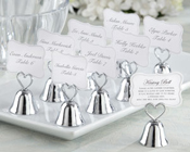Kissing Bells Place Card/Photo Holder (Set of 24)-Kissing Bells, Bomboniere, Place Card, Photo Holder, wedding