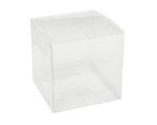Clear Cube Box 80mm-Clear Cube Box, Pvc Box, Square box, bonboniere box, bomboniere box, Clear Cube, 80mm pvc box, wedding gift box, plastic bomboniere box