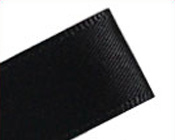 Ribbon Double Sided Satin Black-Satin Ribbon, double sided satin, black ribbon, high quality ribbon, double face ribbon