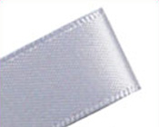 Ribbon Double Sided Satin Silver-Double Sided Satin Ribbon, Double faced satin ribbon, silver satin ribbon, silver ribbon, invitation ribbon, premium ribbon
