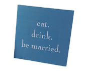 Eat Drink Be Married Invitation-Eat Drink Be Married Invitation, Wedding Invitation, blue wedding invitation, aqua wedding invitation, teal wedding invitation, unique wedding invitation