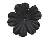 Paper Flowers - Black 20mm (Pack of 50)-Paper Flowers Black, Craft Flowers, Bomboniere, DIY Invitations, DIY bomboniere, bonbonniere, wedding invitations
