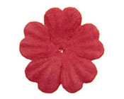Paper Flowers - Red 20mm (Pack of 50)-Paper Flower Red, Craft Flower, Wedding invitations, wedding bomboniere, DIY invitations