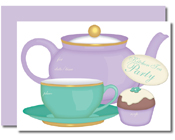 Lil Vites Kitchen Tea (Pack of 8)-Lil Vites Kitchen Tea Fill In invitations, fill-in invitations, diy invitations, bridal shower, kitchen tea, bridal shower invites, kitchen tea invites