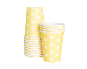 Paper Eskimo Limoncello Yellow Party Cup-Paper Eskimo Limoncello Party Cup, Yellow party paper cup, Yellow Party Cup Pack of 12 Kids Party Invitations Shop By Party Theme Cupcake Wrappers Party Plates Party Cups Treat Bags Bunting Napkins Dessert Plates Party Tags
