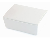 Medium HiPP Box think bracelet - Gloss Chilli White-Medium HiPP Box Gloss Chilli White, White box, think bracelet box, favour box, bombonniere box, bonbonniere box, diy box, wedding