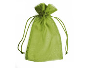 Organza Bag Pistachio Green (Pack of 10)-Organza bag, chiffon bag, high quality organza bag, Pistachio Green organza bag, premium organza bag, wedding favour, wedding bomboniere, christening favour, christening bonbonniere, vandoros organza bag, jewellery organza bag, bonbonniere, bombonniere, bomboniere, Christmas organza