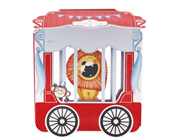 Paper Eskimo Roll up Circus Invitation Kit (Pack of 12)-Paper Eskimo Poppit invitation roll up circus poppit invitations, circus party invitation, lion party invitation, boys party invitation, kids party invitation, kids birthday invitation, kids party invites, under the sea invitation, big top party invitation