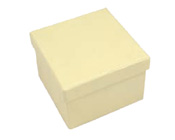 Square Hard Box 7.5cm Cream-Square solid box, bomboniere box, box with lid, rigid bomboniere box, hard gift box, cream box, christening bomboniere, diy box, wedding bomboniere, bonbonniere box