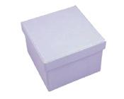 Square Hard Box 7.5cm Lavender-Square solid box, bomboniere box, box with lid, rigid bomboniere box, hard gift box, Lavender Purple box, christening bomboniere, diy box, wedding bomboniere, bonbonniere box