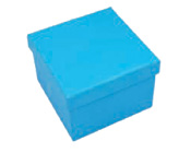 Square Hard Box 7.5cm Turquoise-Square solid box, bomboniere box, box with lid, rigid bomboniere box, hard gift box, Turquoise Aqua Blue box, christening bomboniere, diy box, wedding bomboniere, bonbonniere box