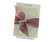 C6 Glamour Pocket Olivia Ivory Pearl with Diamante Bow-wedding invitation, Glamour Pocket, DIY Wedding invitation, paperglitz, diamante invitation, unique invitation, different invitation