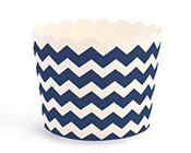 Paper Eskimo Navy Blue Chevron Baking Cup Cupcake Wrappers-Navy Blue baking cup, Paper Eskimo Navy Blue Chevron Baking Cup Cupcake Wrappers, dark blue cupcake wrapper, blue baking cup, blue chevron cupcake wrapper