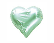 Pastel Green Hearts-Fardoulis chocolate foiled Hearts, chocolate hearts, foil hearts, wedding confectionery, wedding chocolate, bomboniere, bonbonniere, fine chocolate, luxury bomboniere, luxury chocolate, pastel green chocolate, green chocolate