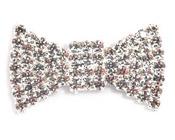 Diamante Cluster - Bow-Diamante  Cluster Bow, Bow cluster, diamante cluster, diamante embellishment, invitation decoration, unique invitations, wedding invitation, bomboniere, bonbonniere, paperglitz, ebony cluster, black cluster, bling, sparkle