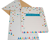 HiPP invitation kit Confetti Rainbow party-rainbow confetti invitation, confetti invitation, confetti invite,