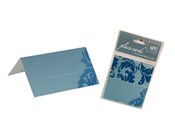 Baroque Blue Place Cards HiPP-Baroque Blue Place Card Hipp, blank place card, unique place cards, different place cards, placecards, diy placecards, do it yourself place cards